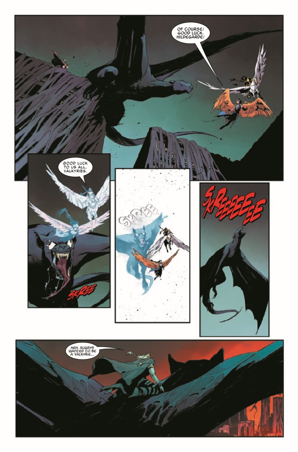 KIBVALKYRIESRET2021003_Preview-7 ComicList Previews: KING IN BLACK RETURN OF THE VALKYRIES #3 (OF 4)