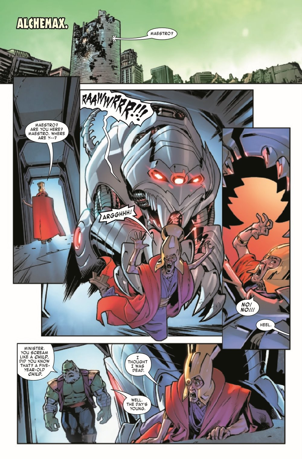 MAESTROWAP2021002_Preview-5 ComicList Previews: MAESTRO WAR AND PAX #2 (OF 5)