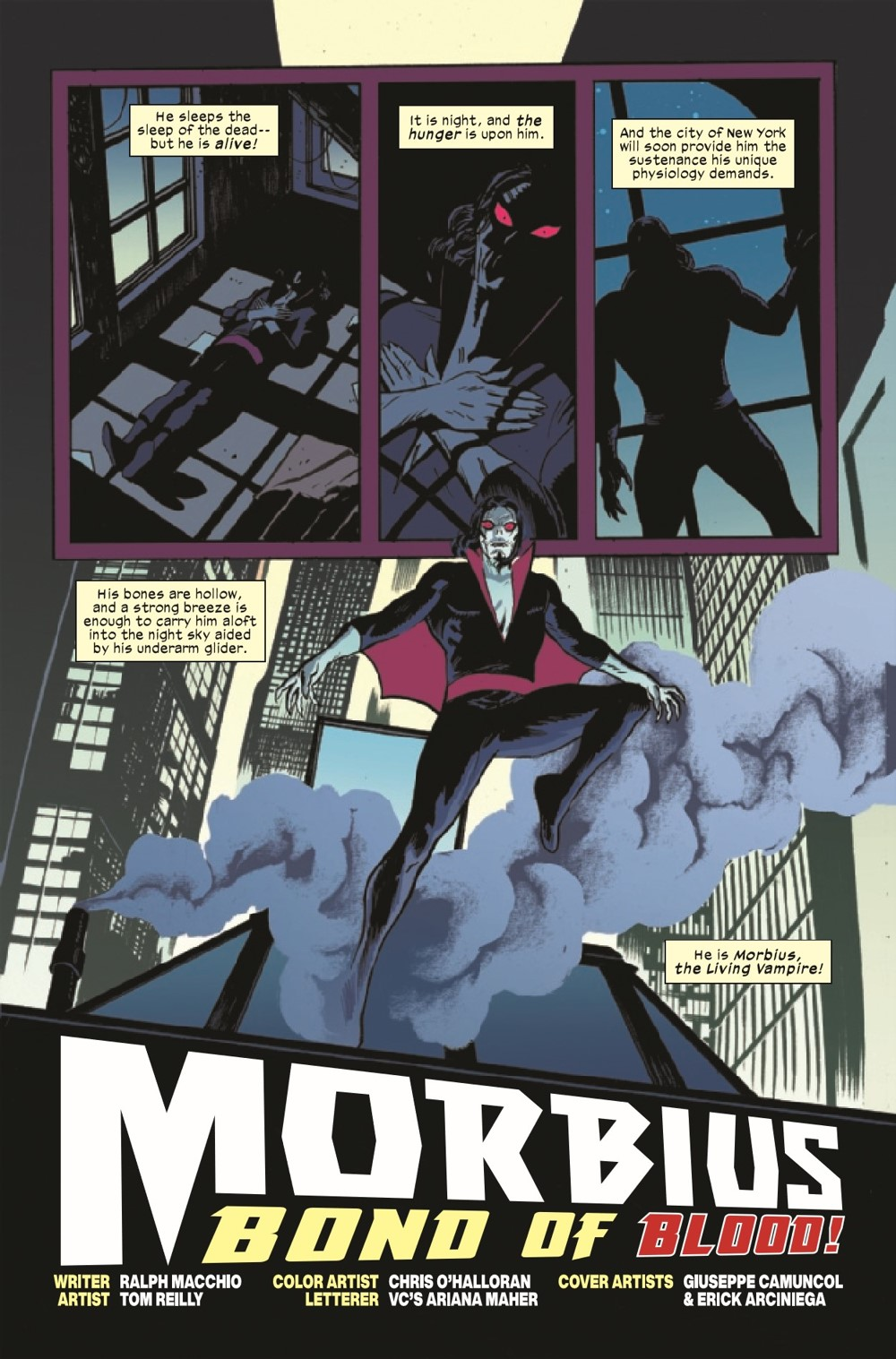 MORBIUSBOB2021001_Preview-2 ComicList Previews: MORBIUS BOND OF BLOOD #1