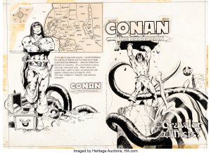 Peter-Pan-Power-Records-Conan-art-by-Neal-Adams-1-300x218 Power Records Comics: Superheroes, SciFi, and More