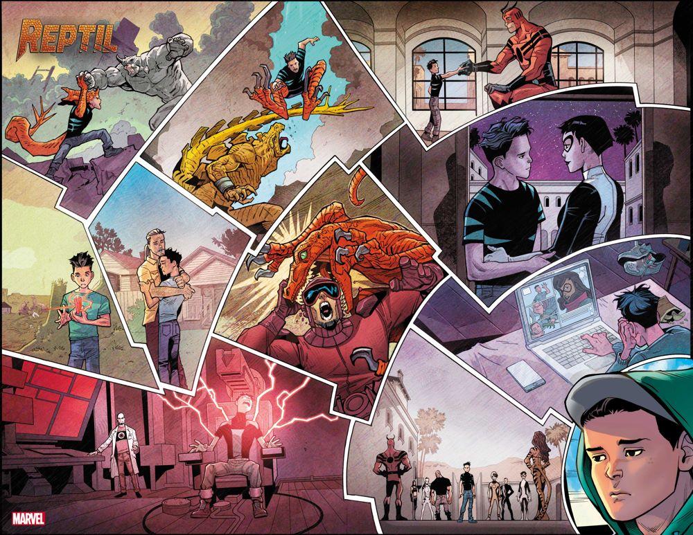REPTIL2021001_InteriorArtwork Reptil evolves into his own Marvel Comics limited series
