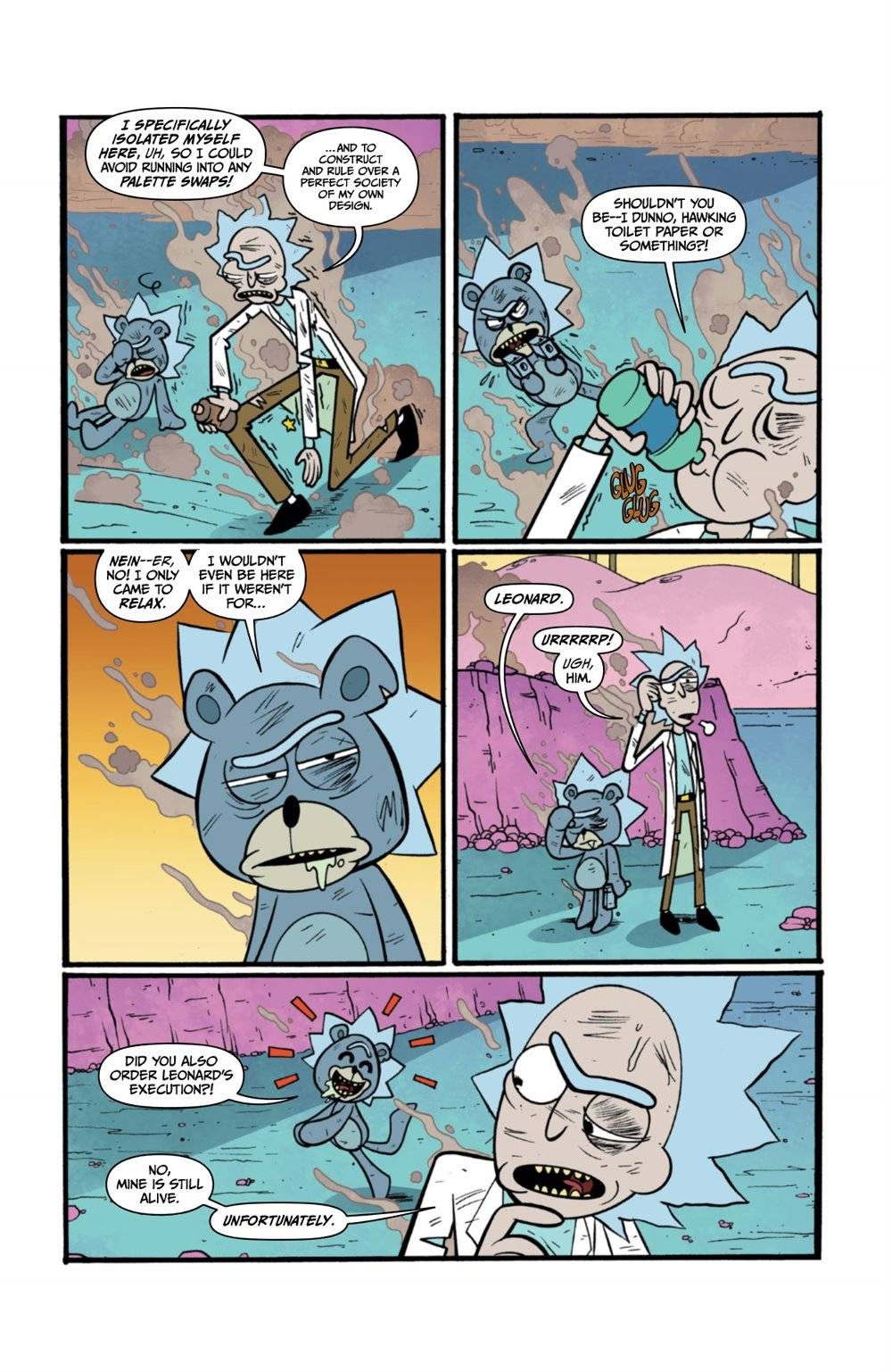 RICKMORTY-WORLDSAPART-2-REFERENCE-07 ComicList Previews: RICK AND MORTY WORLDS APART #2