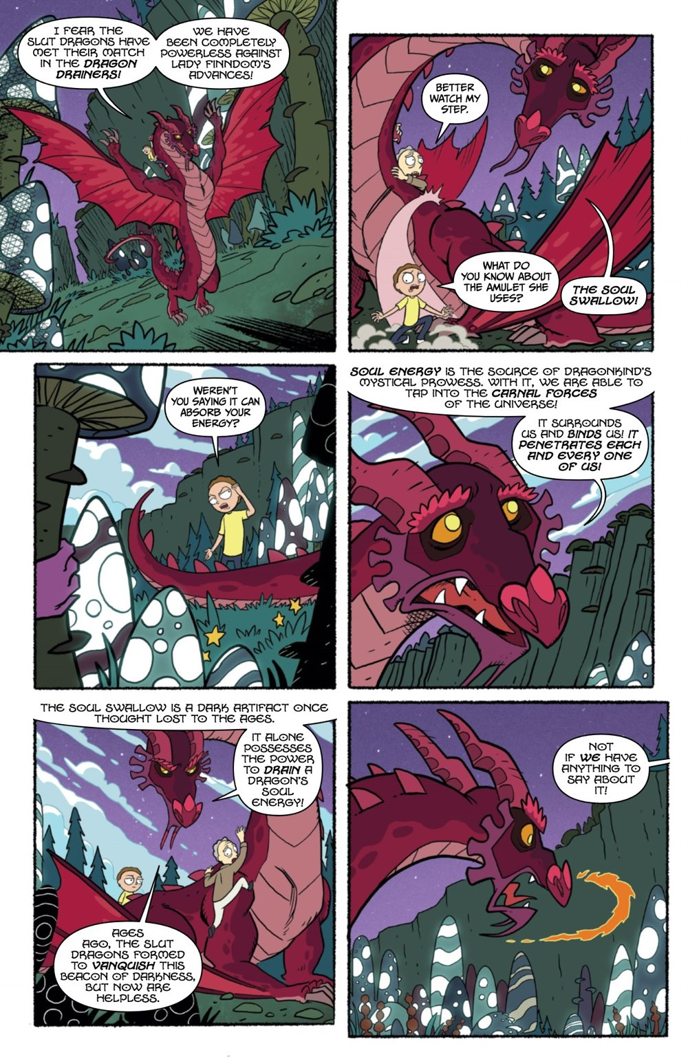 RICKMORTY-WORLDSAPART-2-REFERENCE-10 ComicList Previews: RICK AND MORTY WORLDS APART #2
