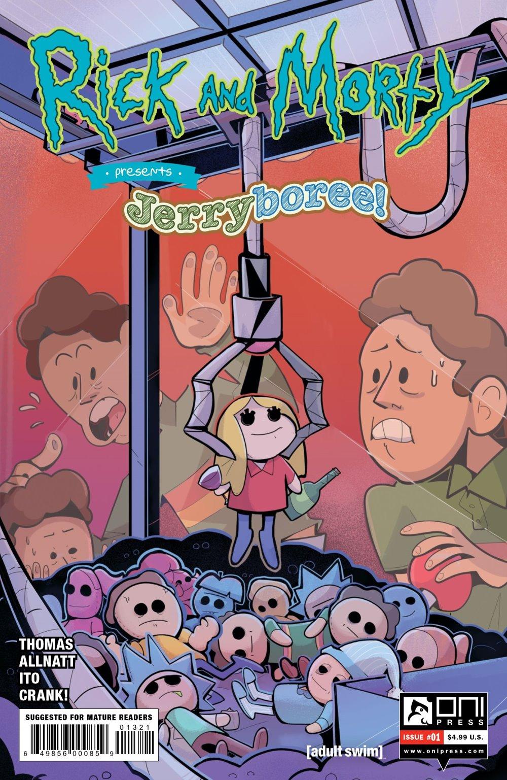 RM-PRES-JERRYBOREE-1-MARKETING-02 ComicList Previews: RICK AND MORTY PRESENTS JERRYBOREE #1