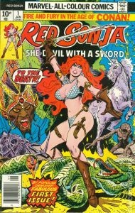 Red-Sonja-1-1977-190x300 Trends & Oddballs for 7/23: Spawn Still Reigns