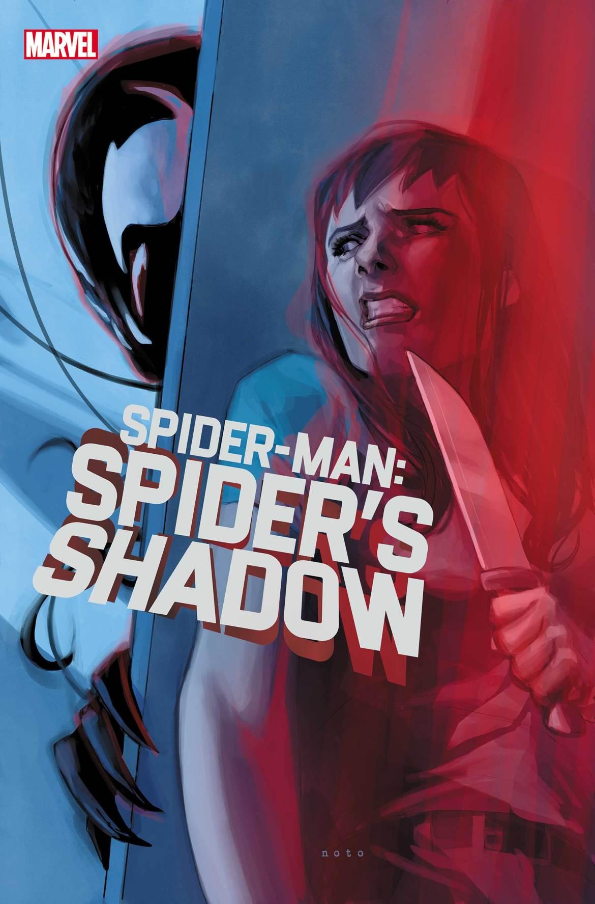 SMSPIDERSHADOW2021002_cov_logo Marvel Comics May 2021 Solicitations