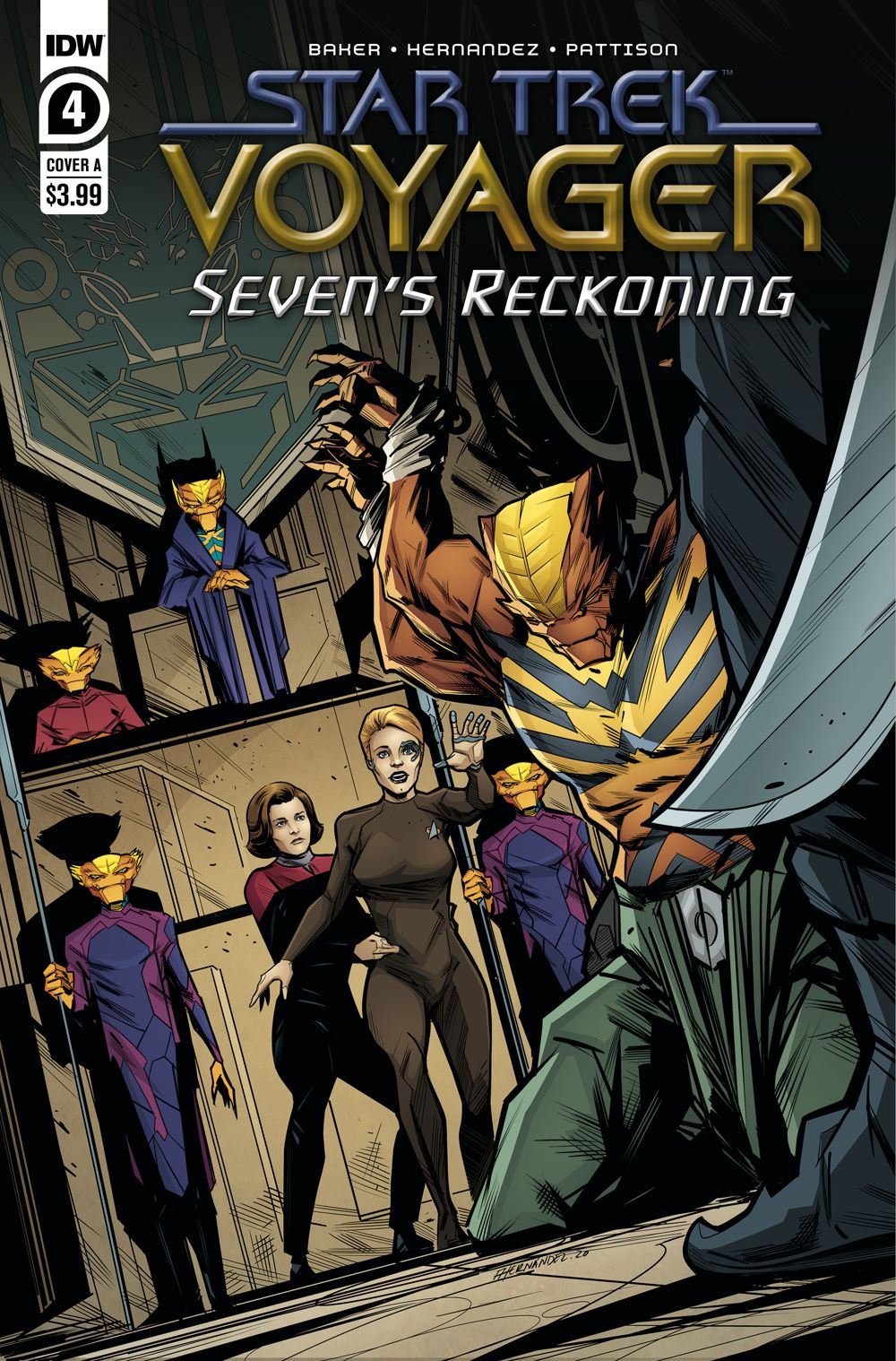 ST_Voyager_SR04-coverA ComicList Previews: STAR TREK VOYAGER SEVEN'S RECKONING #4 (OF 4)