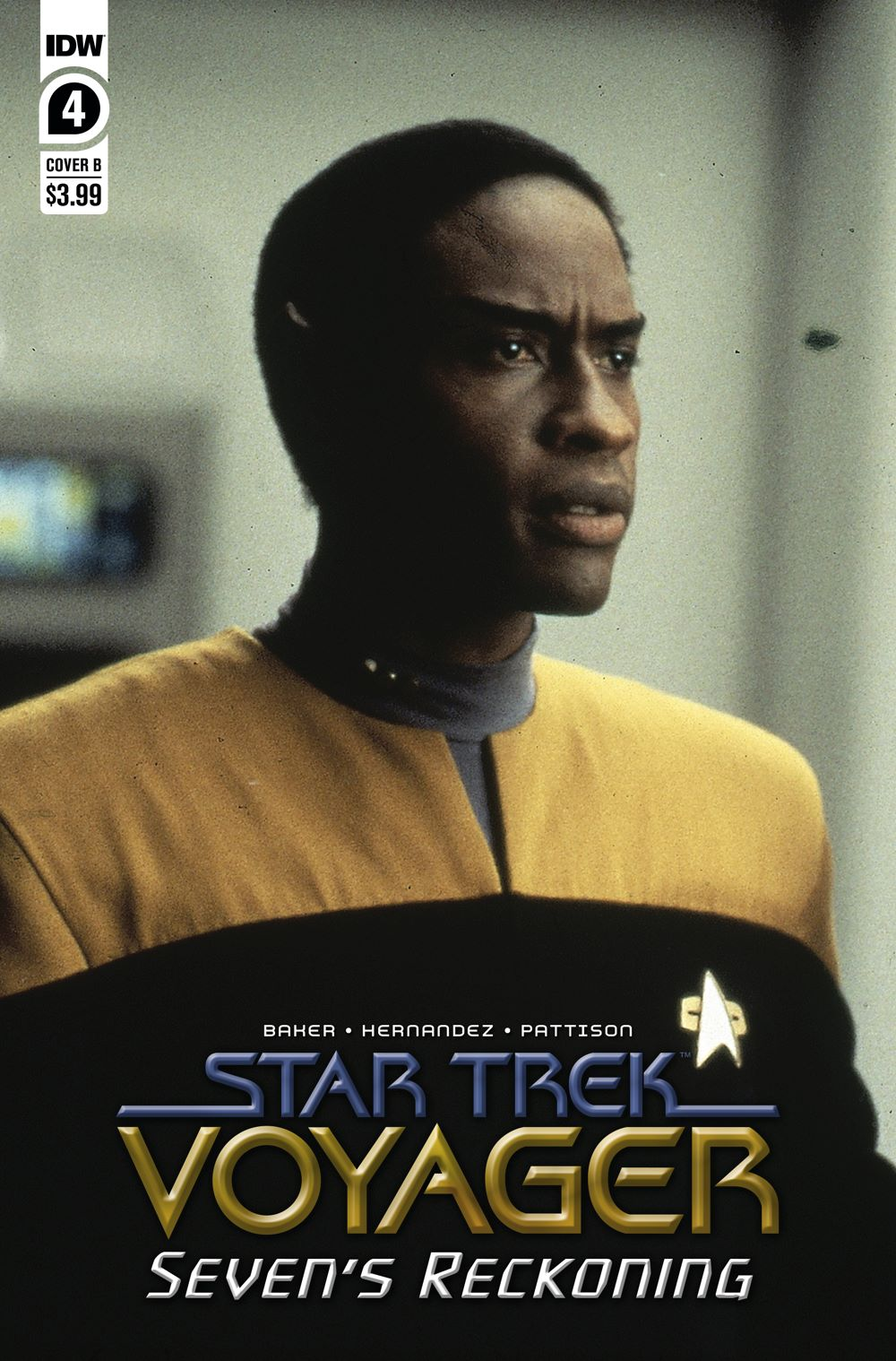ST_Voyager_SR04-coverB ComicList Previews: STAR TREK VOYAGER SEVEN'S RECKONING #4 (OF 4)