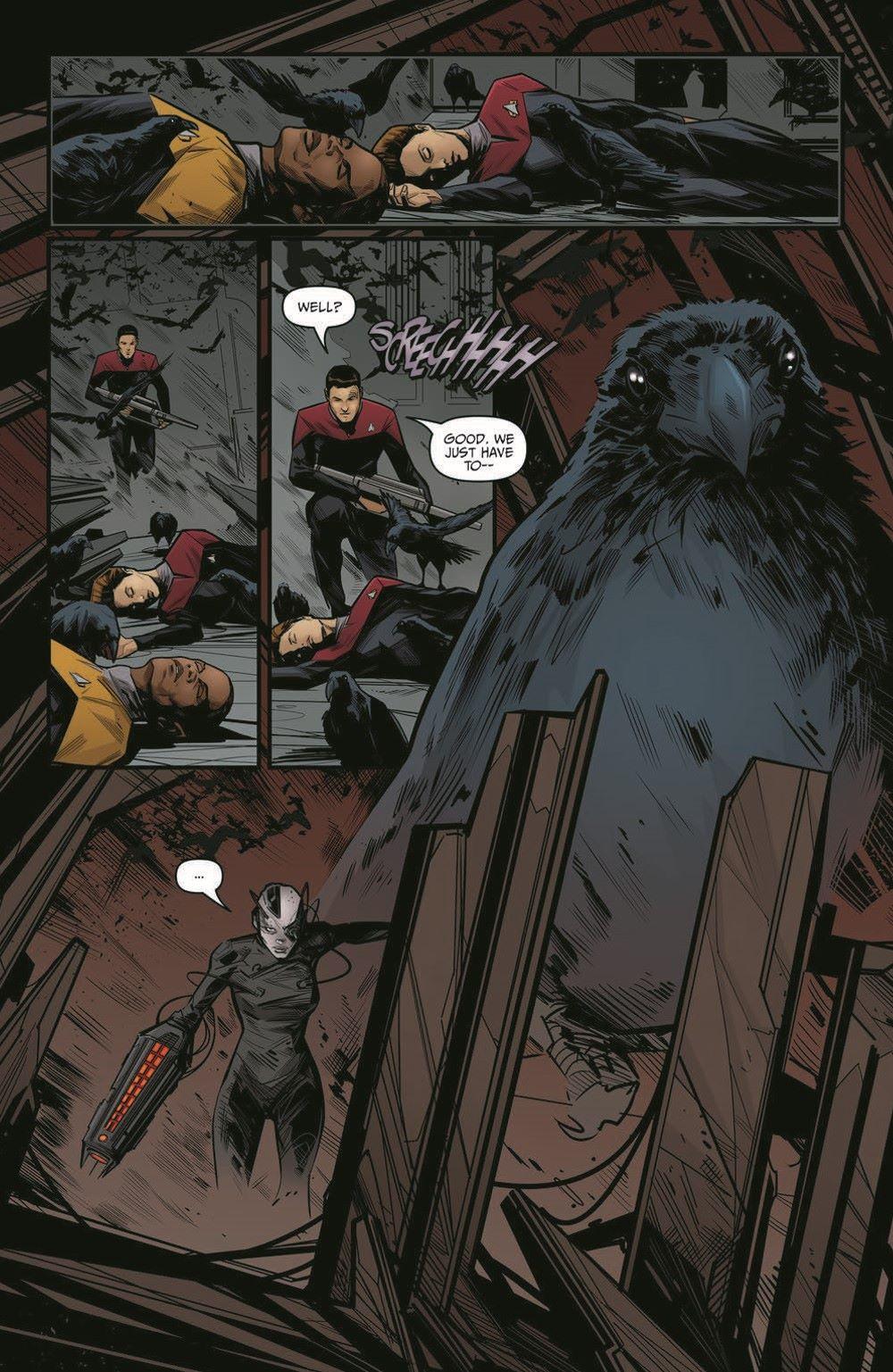 ST_Voyager_SR04-pr-3 ComicList Previews: STAR TREK VOYAGER SEVEN'S RECKONING #4 (OF 4)
