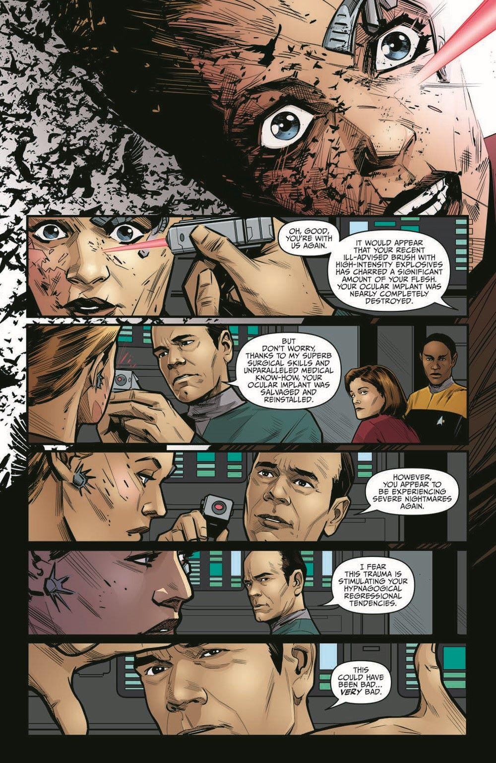 ST_Voyager_SR04-pr-6 ComicList Previews: STAR TREK VOYAGER SEVEN'S RECKONING #4 (OF 4)