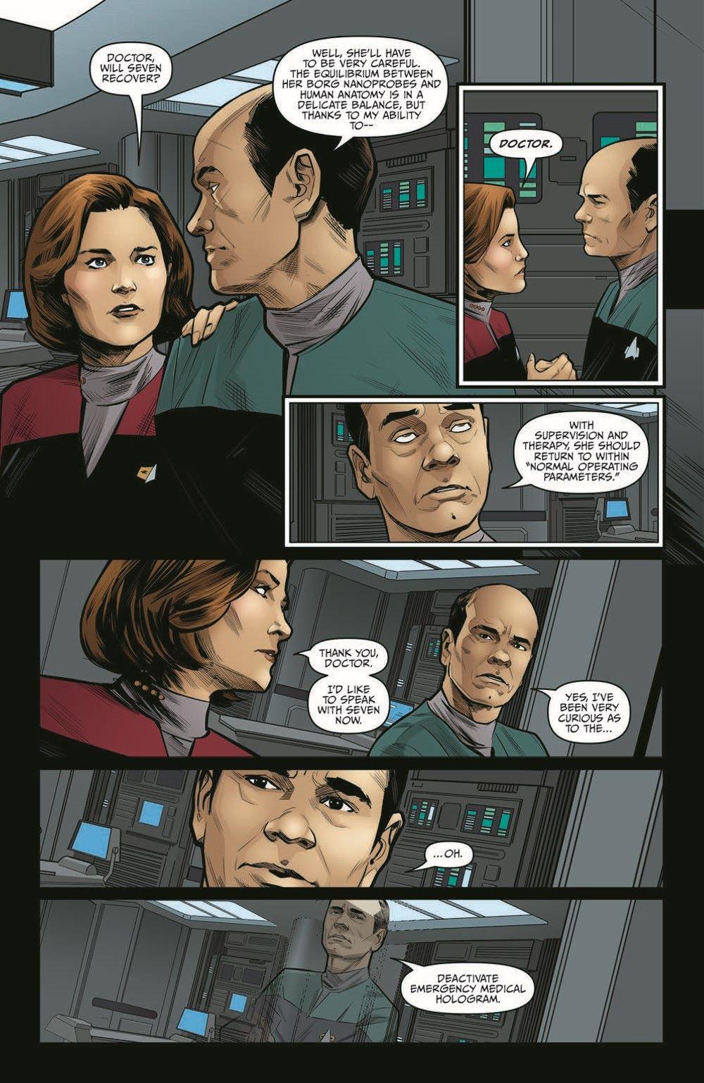 ST_Voyager_SR04-pr-7 ComicList Previews: STAR TREK VOYAGER SEVEN'S RECKONING #4 (OF 4)