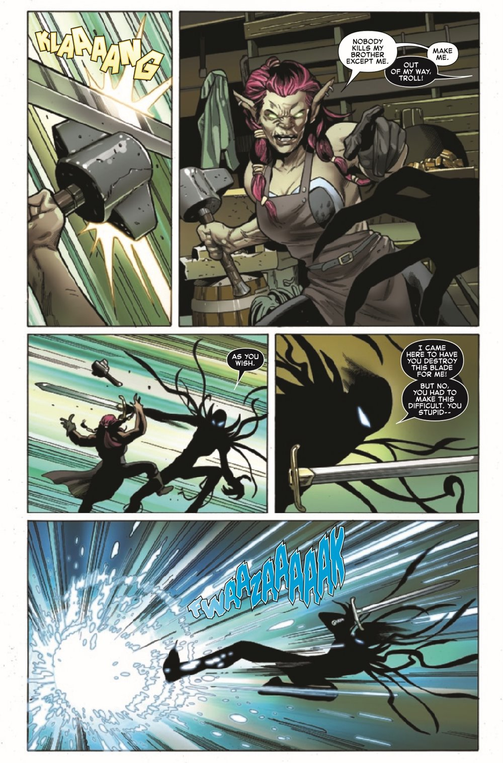 SYMBIOTESMKIB2020004_Preview-4 ComicList Previews: SYMBIOTE SPIDER-MAN KING IN BLACK #4 (OF 5)
