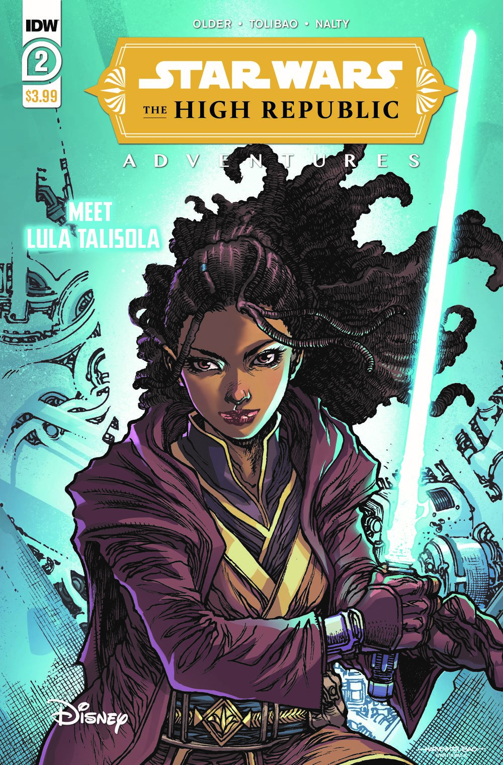 StarWarsHighRepublic-02-A-rev ComicList: IDW Publishing New Releases for 03/03/2021