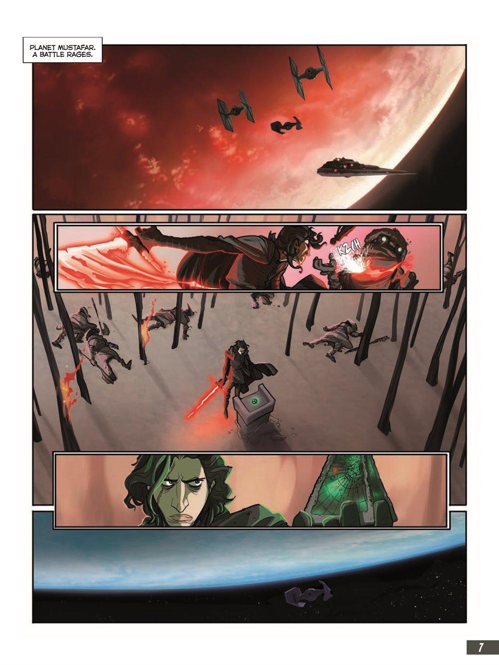 StarWars_IX_TheRiseOfSkywalker_pr-3 ComicList Previews: STAR WARS THE RISE OF SKYWALKER GN