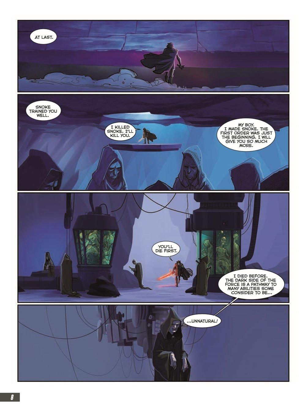 StarWars_IX_TheRiseOfSkywalker_pr-4 ComicList Previews: STAR WARS THE RISE OF SKYWALKER GN