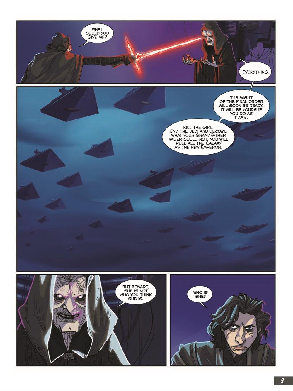 StarWars_IX_TheRiseOfSkywalker_pr-5 ComicList Previews: STAR WARS THE RISE OF SKYWALKER GN