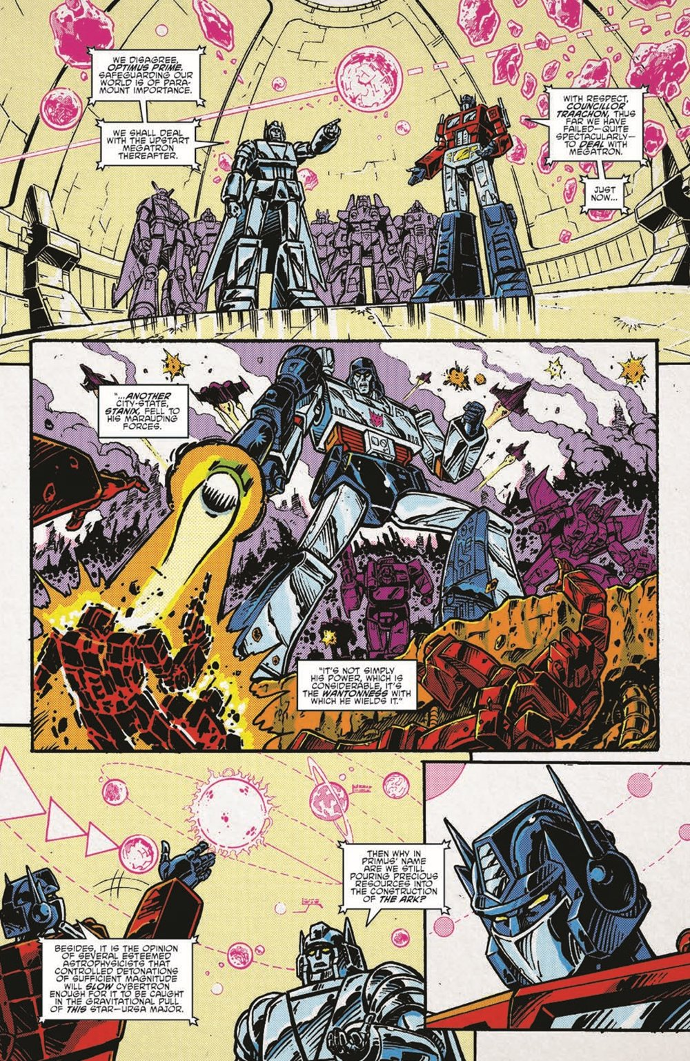 TF84_Secrets_Lies_TPB_pr-7 ComicList Previews: TRANSFORMERS '84 SECRETS AND LIES TP