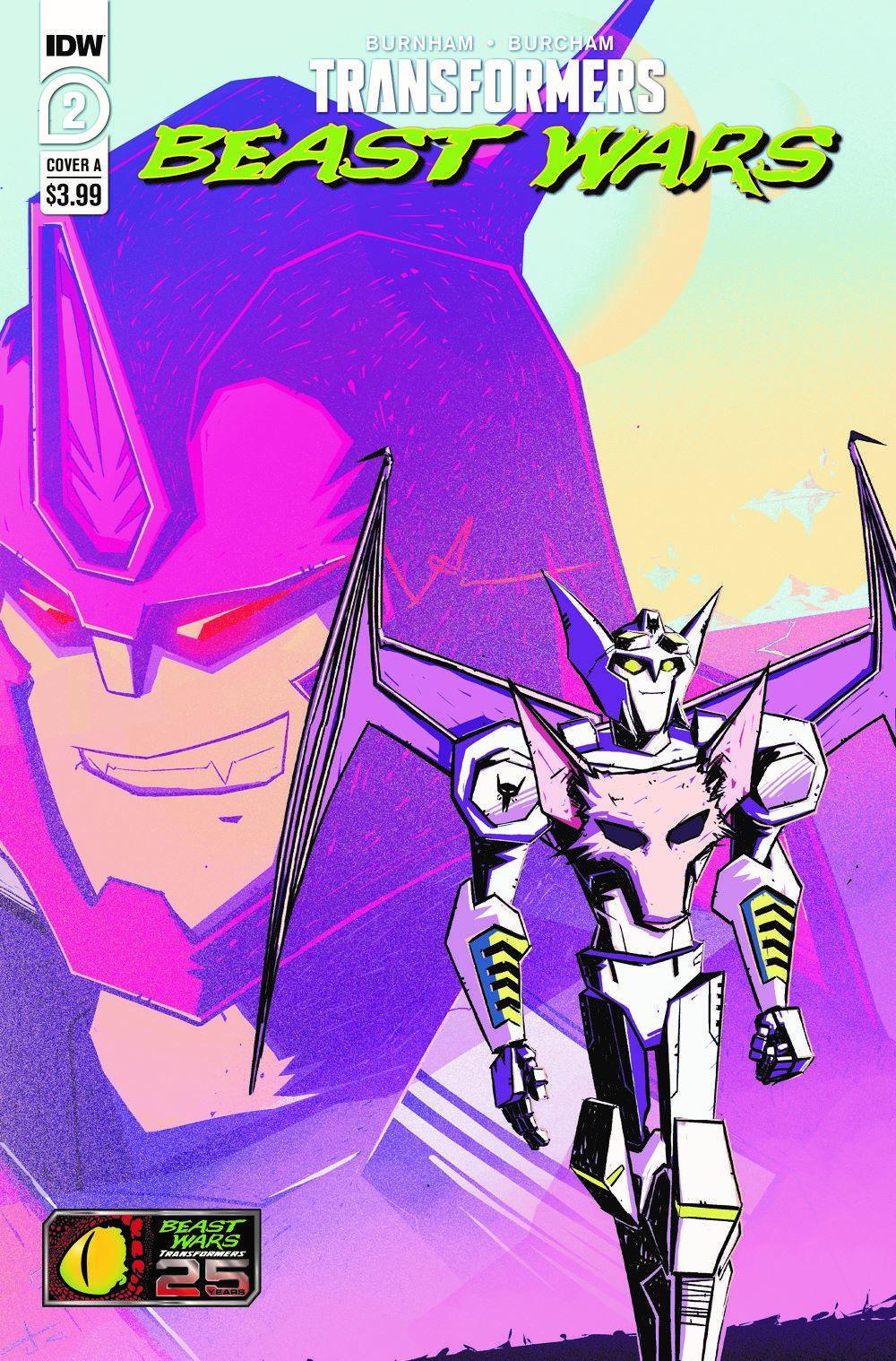 TFBW-Cover-A ComicList Previews: TRANSFORMERS BEAST WARS #2