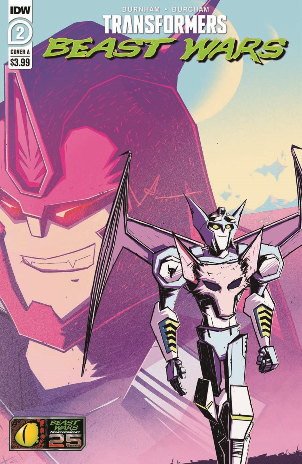 TFBW_02_pr-1 ComicList Previews: TRANSFORMERS BEAST WARS #2