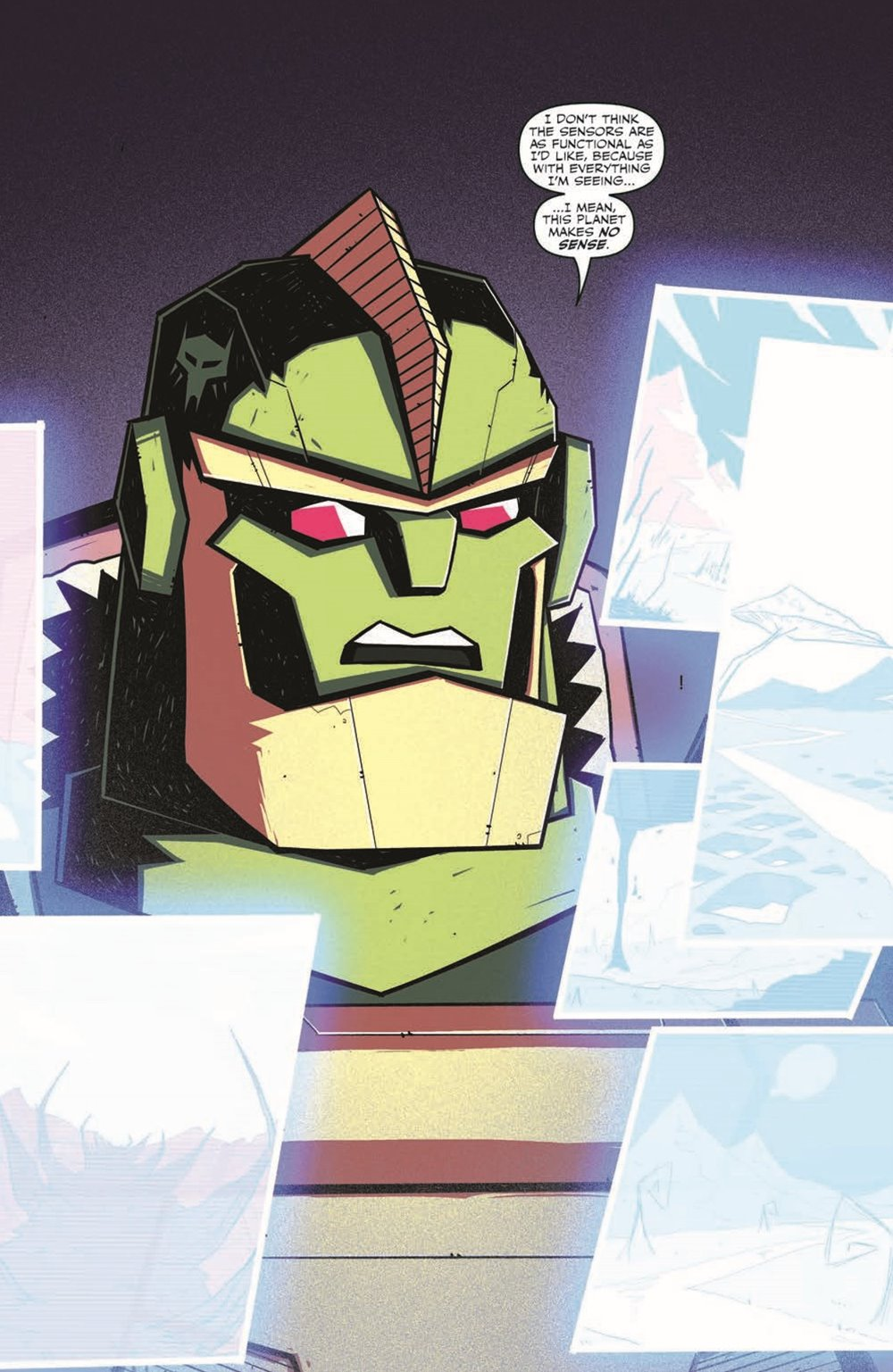 TFBW_02_pr-3 ComicList Previews: TRANSFORMERS BEAST WARS #2