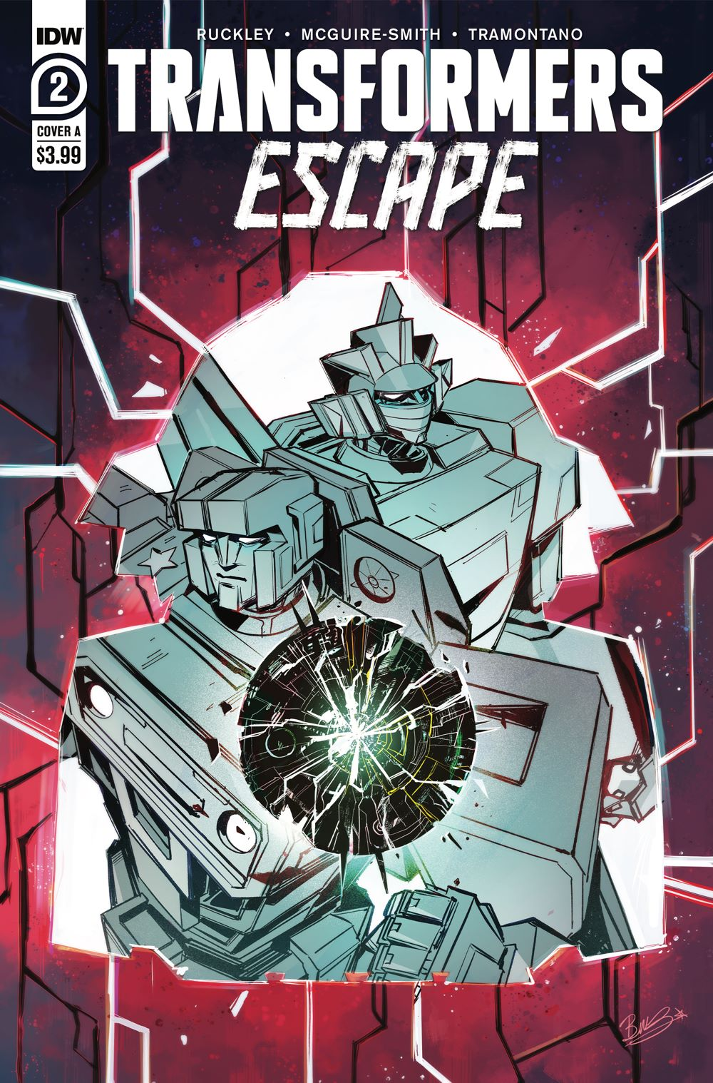 TFEscape02-Cover-A ComicList: IDW Publishing New Releases for 02/10/2021
