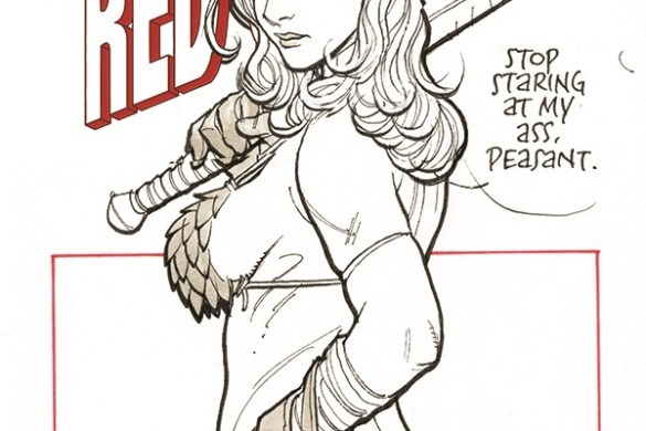 TIRS-01-01041-D-Cho Amanda Conner and Jimmy Palmiotti unleash THE INVINCIBLE RED SONJA