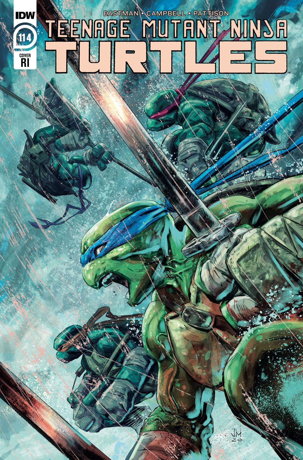 TMNT114_cvrRI ComicList Previews: TEENAGE MUTANT NINJA TURTLES #114