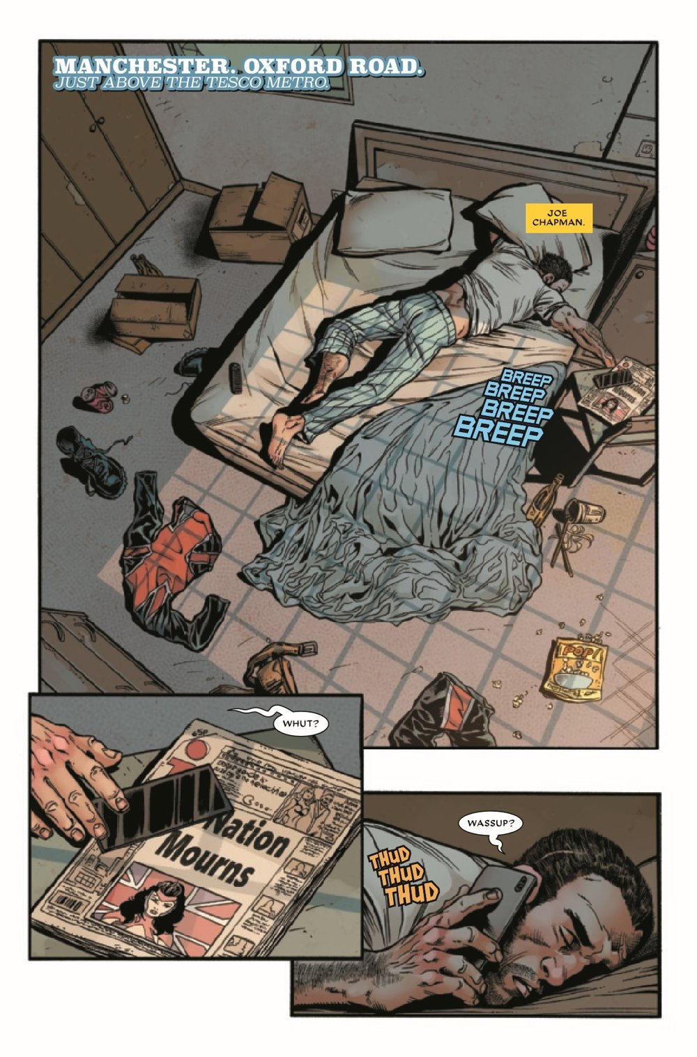 UNION2020003_Preview-3 ComicList Previews: THE UNION #3 (OF 5)