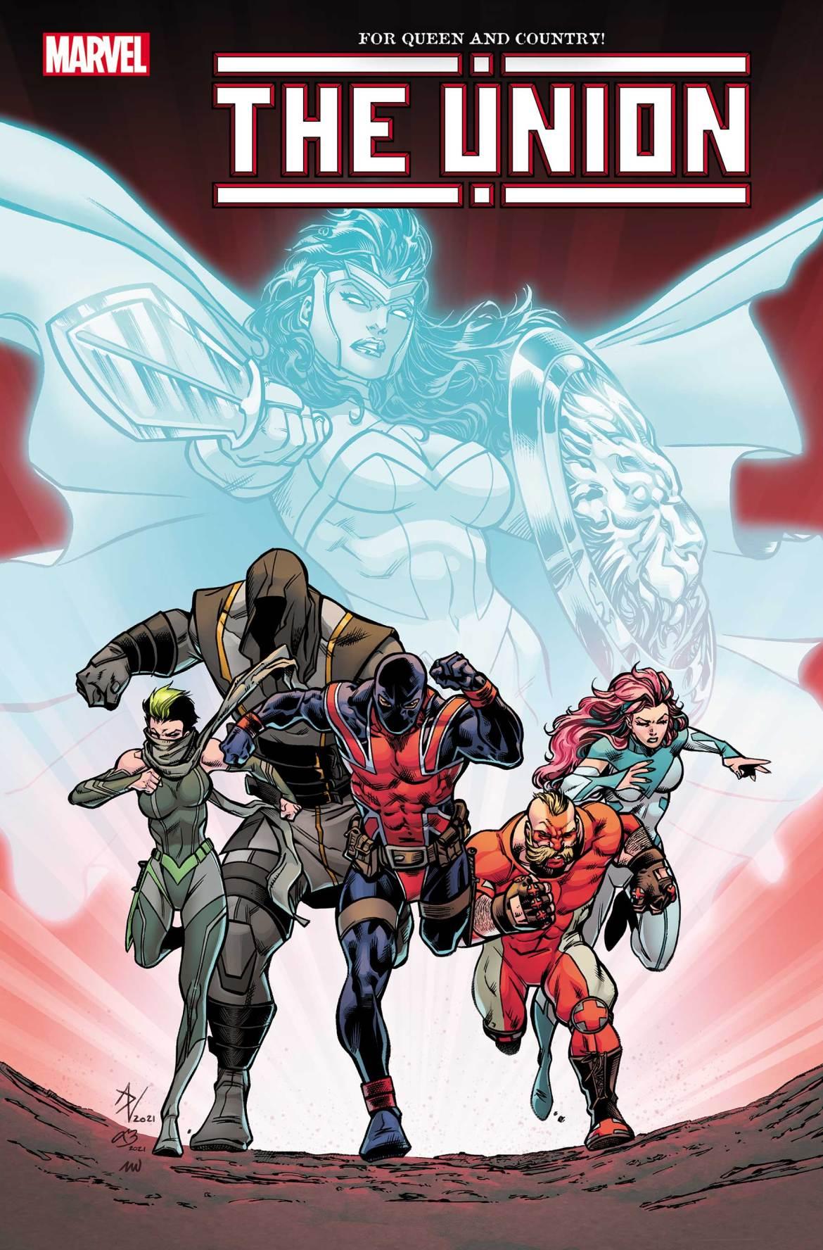 UNION2020005_cov Marvel Comics May 2021 Solicitations