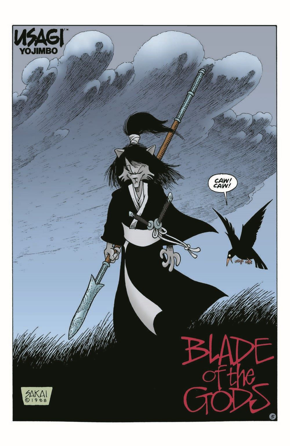 Usagi-WR04_pr-7 ComicList Previews: USAGI YOJIMBO WANDERER'S ROAD #4 (OF 6)