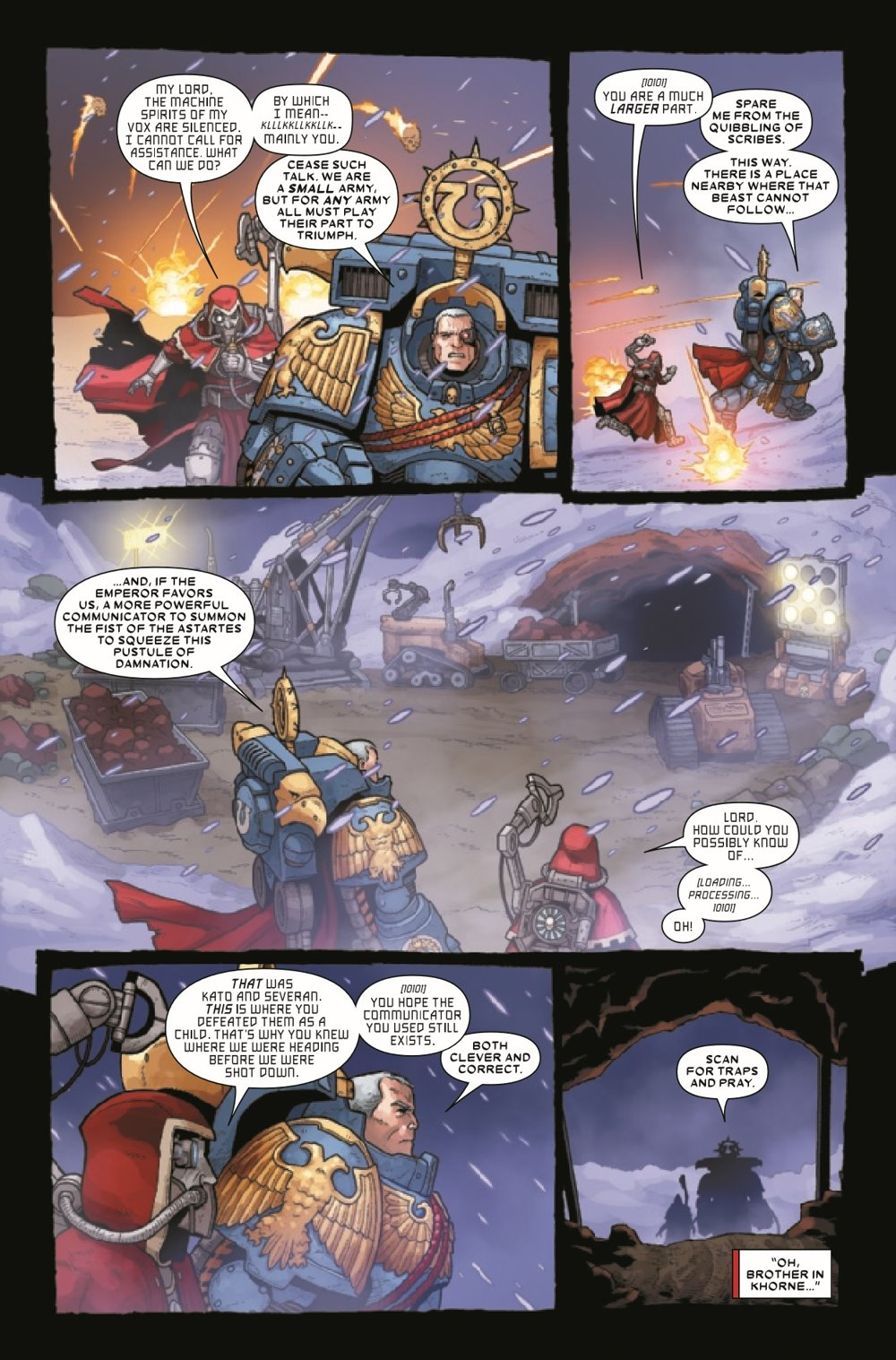 WARHAMMERMC2020005_Preview-6 ComicList Previews: WARHAMMER 40000 MARNEUS CALGAR #5 (OF 5)