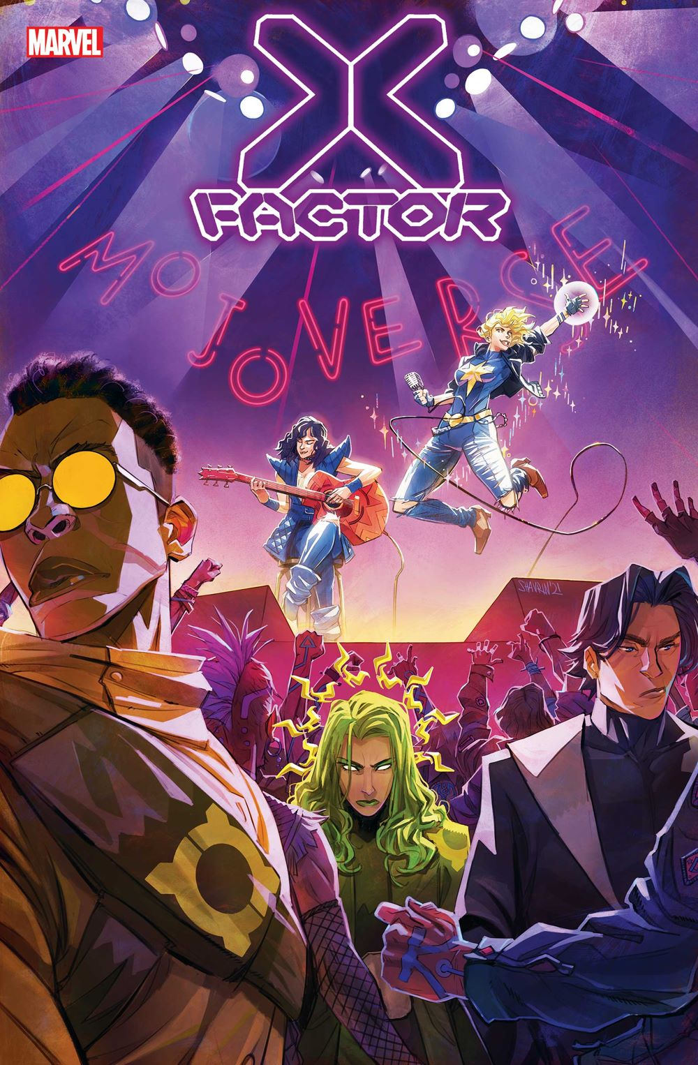 XFACT2020009_Cov Ongoing X-MEN and X-FACTOR series return this May