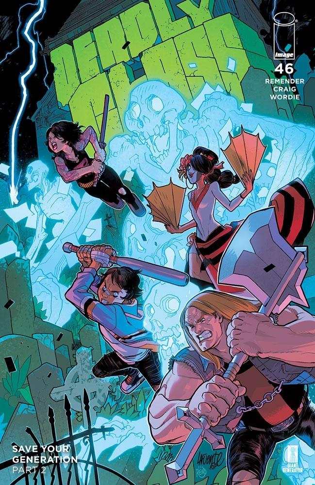 deadlyclass46b Image Comics May 2021 Solicitations