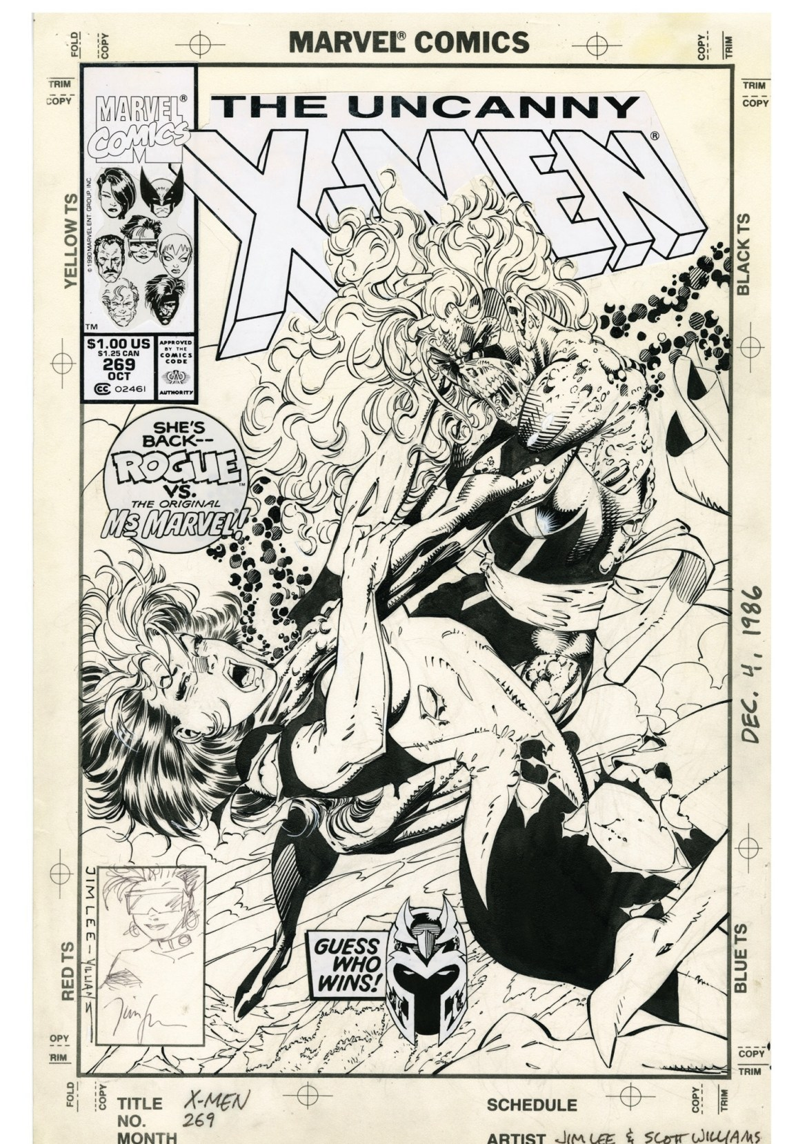 fe0ea9c6-fdf9-4761-941b-ea65eb535de4 JIM LEE'S X-MEN ARTIST'S EDITION to contain the best selling X-Men #1