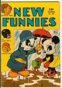 new-funnies-2-212x300 Sneaky Moves: Are Golden Age Funny Animal Comics Laughing Their Way Up?