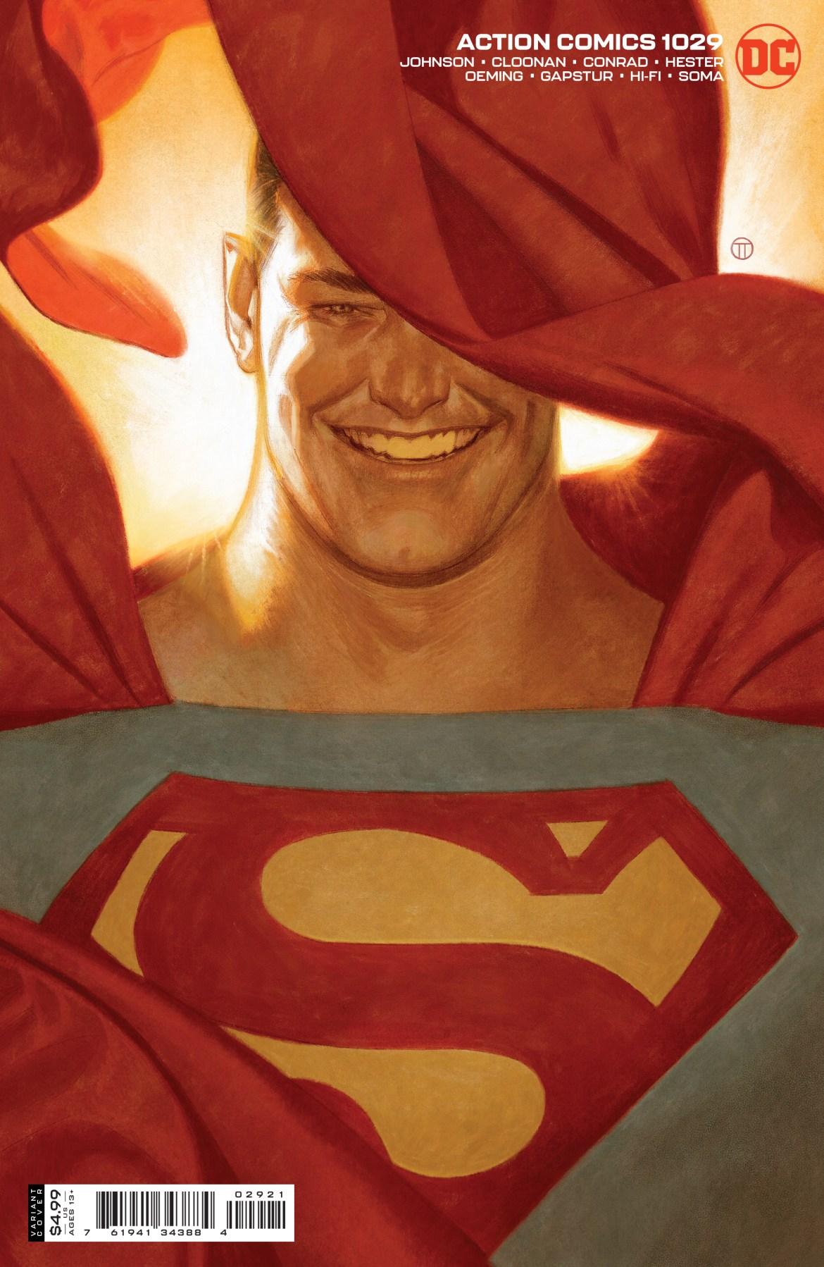 0121DC026 ComicList: DC Comics New Releases for 03/24/2021