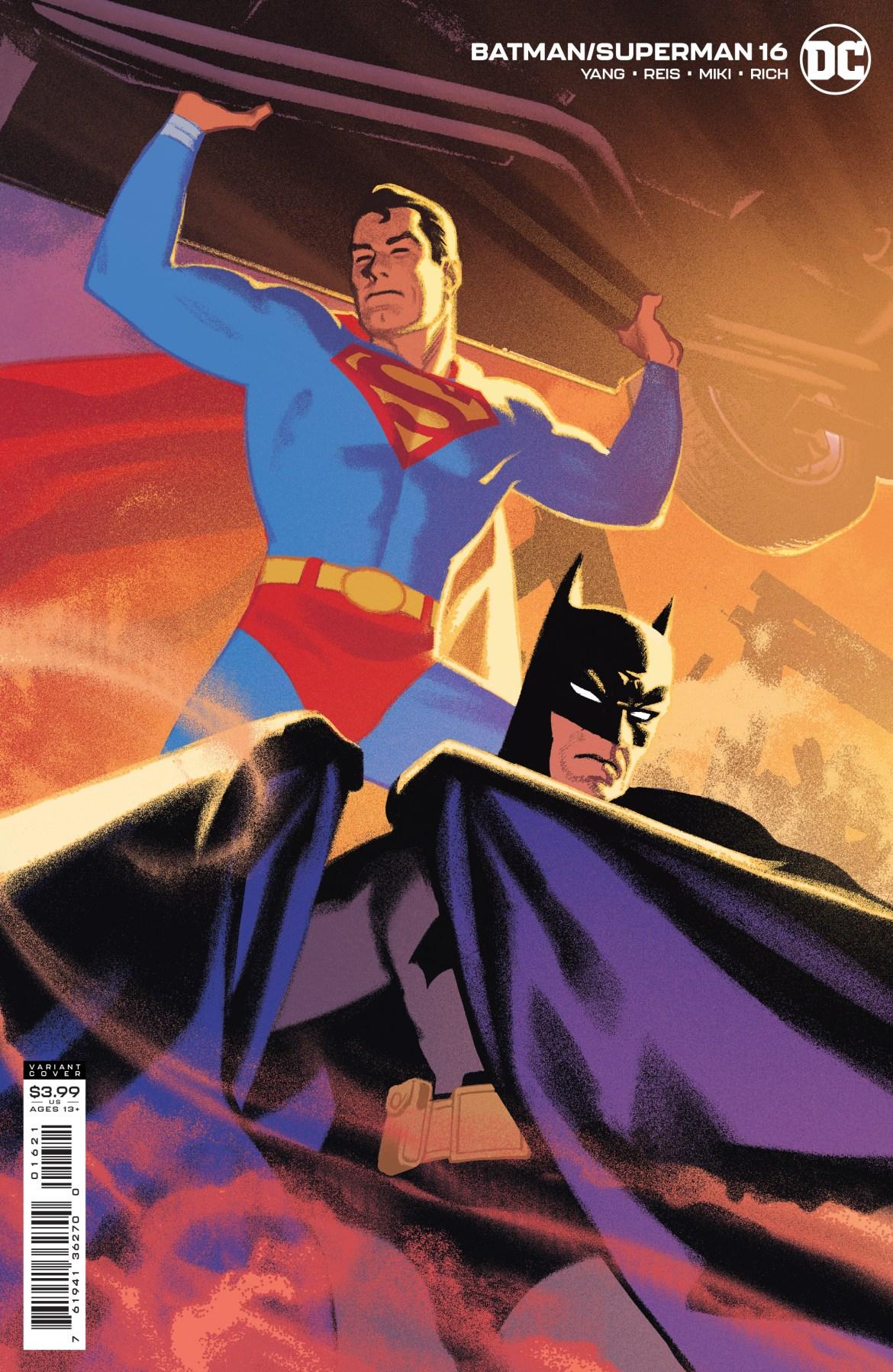 0121DC033 ComicList: DC Comics New Releases for 03/24/2021