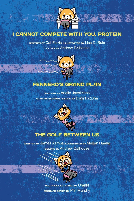 AGGRETSUKO-MHF-HC-V1-REFERENCE-03 ComicList Previews: AGGRETSUKO MEET HER FRIENDS HC