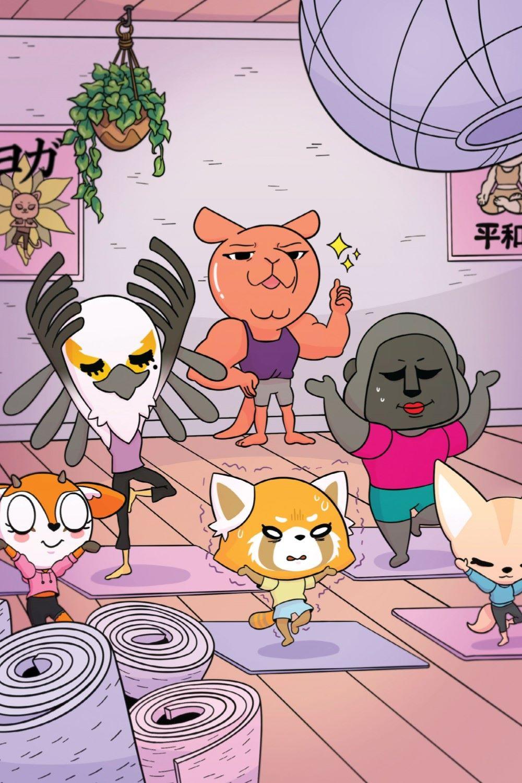 AGGRETSUKO-MHF-HC-V1-REFERENCE-06 ComicList Previews: AGGRETSUKO MEET HER FRIENDS HC