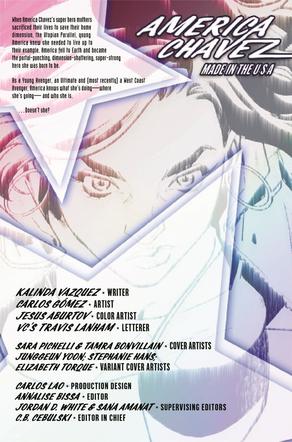 AMERCHAVEZUSA2021001_Preview-2 ComicList Previews: AMERICA CHAVEZ MADE IN THE U.S.A. #1 (OF 5)