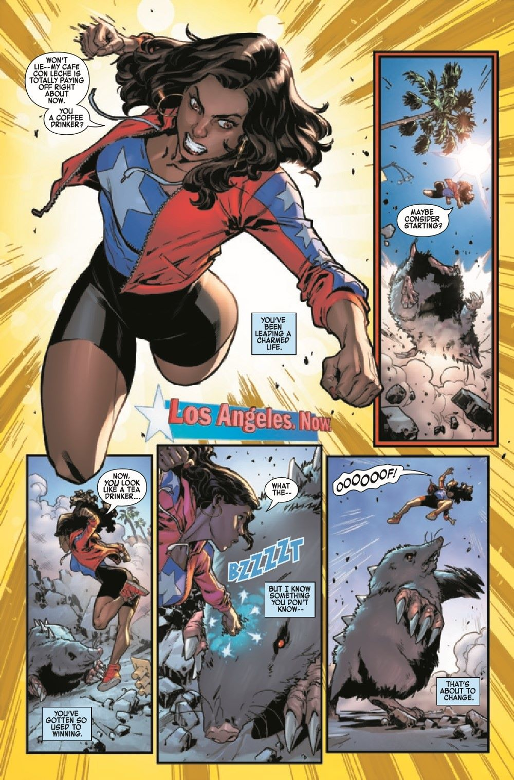 AMERCHAVEZUSA2021001_Preview-4 ComicList Previews: AMERICA CHAVEZ MADE IN THE U.S.A. #1 (OF 5)