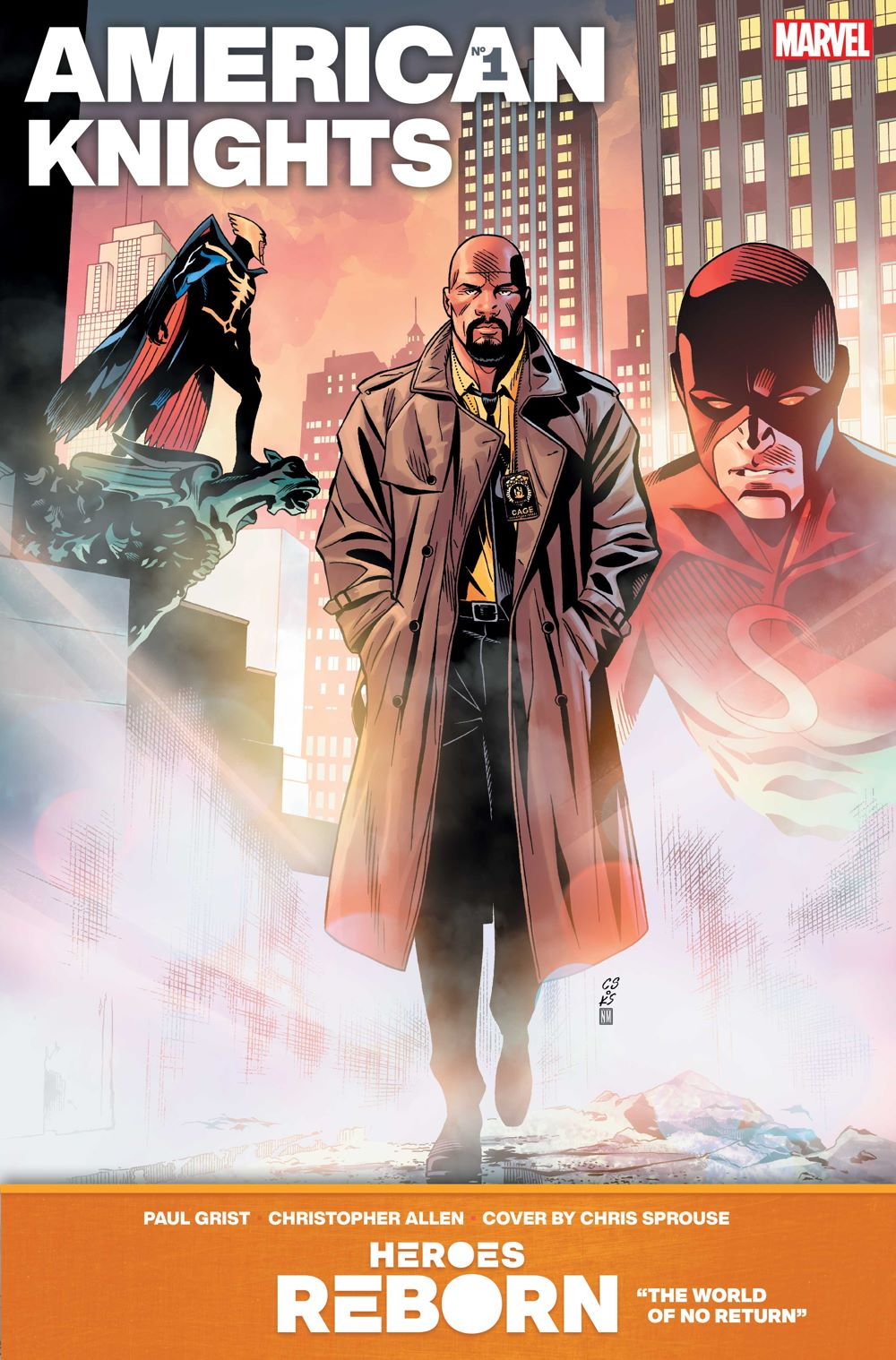 AMERICAN_KNIGHTS Even more HEROES REBORN covers are revealed