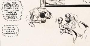 Ali-and-Superman-300x153 Blogger Dome: Original Art vs High Grade Comic