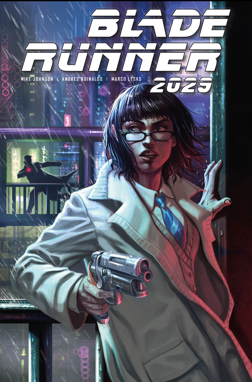 BLADE-RUNNER-2029-5D-CLAUDIA-IANNICELLO Titan Comics June 2021 Solicitations