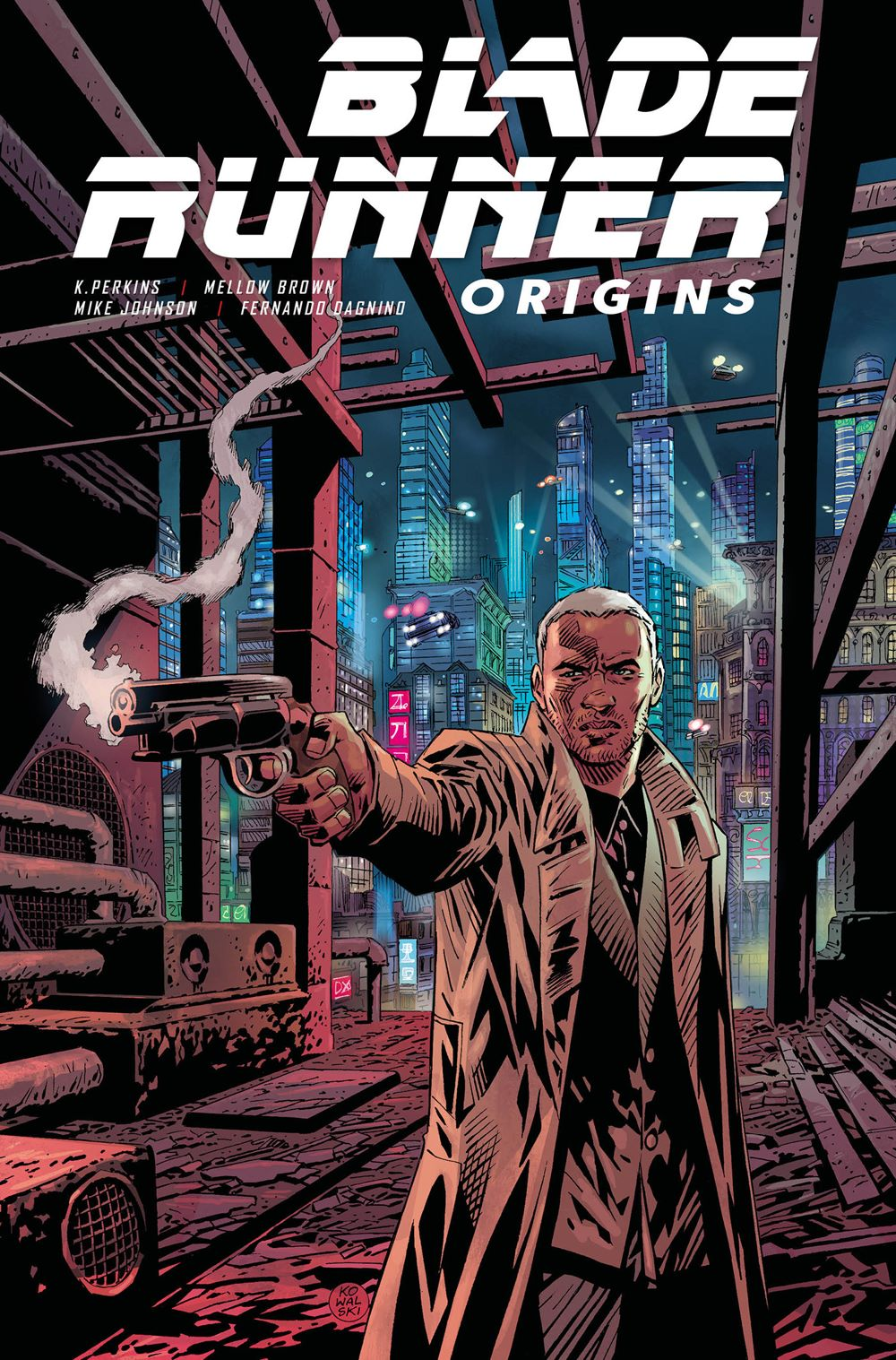 BLADE-RUNNER-ORIGINS-TP Titan Comics June 2021 Solicitations