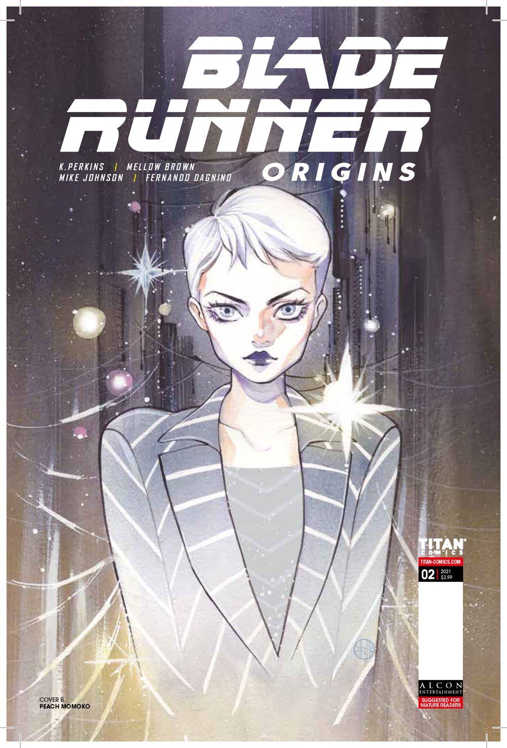 Blade_Runner_Origins_2_COVERS-B_-MOMOKO ComicList Previews: BLADE RUNNER ORIGINS #2