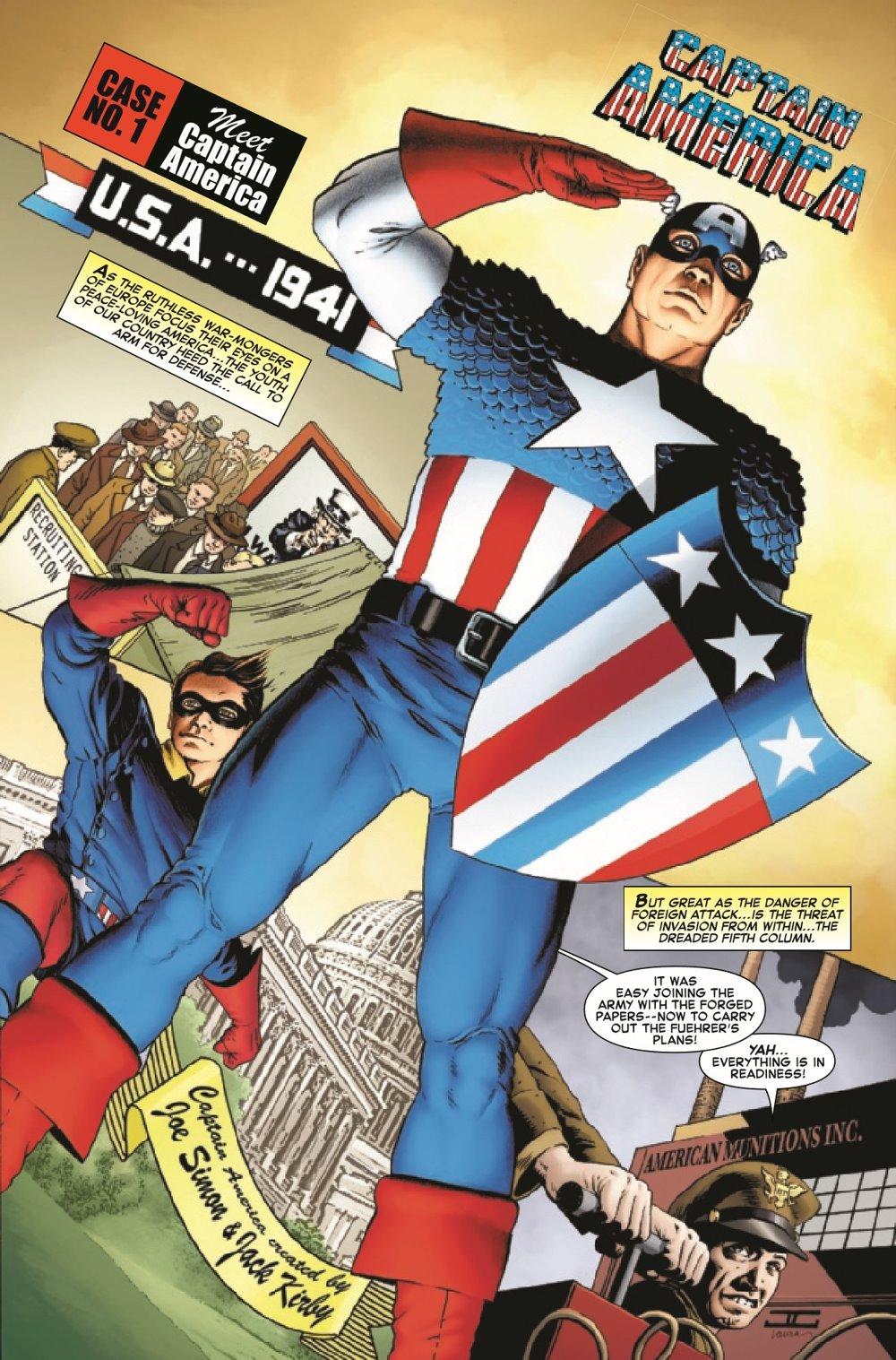 CAPAANNIVERSARY2021001_Preview-2 ComicList Previews: CAPTAIN AMERICA ANNIVERSARY TRIBUTE #1