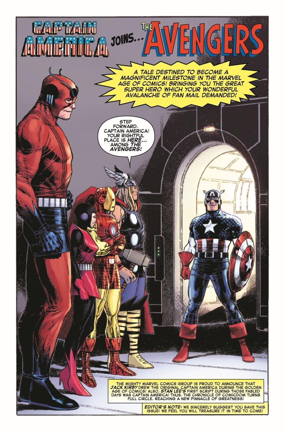 CAPAANNIVERSARY2021001_Preview-4 ComicList Previews: CAPTAIN AMERICA ANNIVERSARY TRIBUTE #1