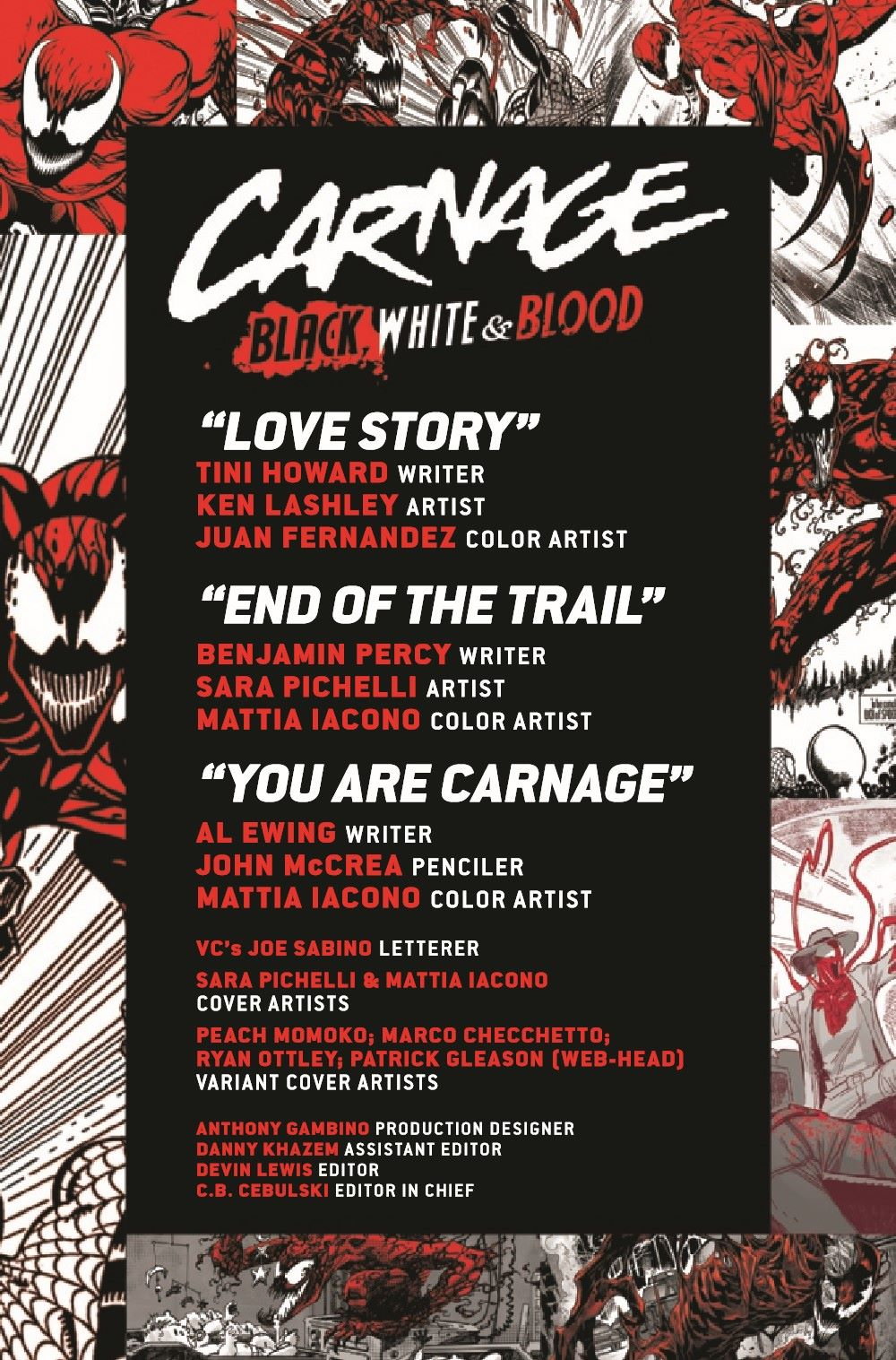 CARNBLKWHBL2021001_Preview-2 ComicList Previews: CARNAGE BLACK WHITE AND BLOOD #1 (OF 4)
