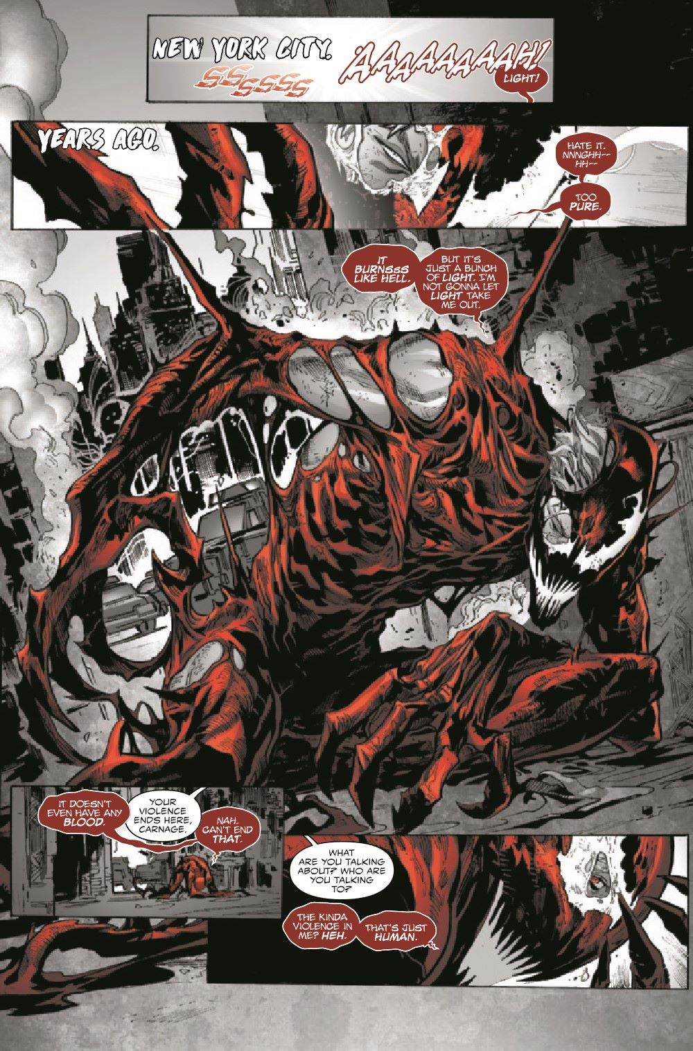 CARNBLKWHBL2021001_Preview-3 ComicList Previews: CARNAGE BLACK WHITE AND BLOOD #1 (OF 4)